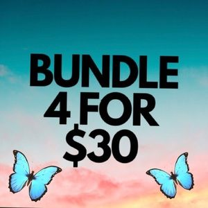 🦋🦋 Bundle 4 items for $30 🦋🦋